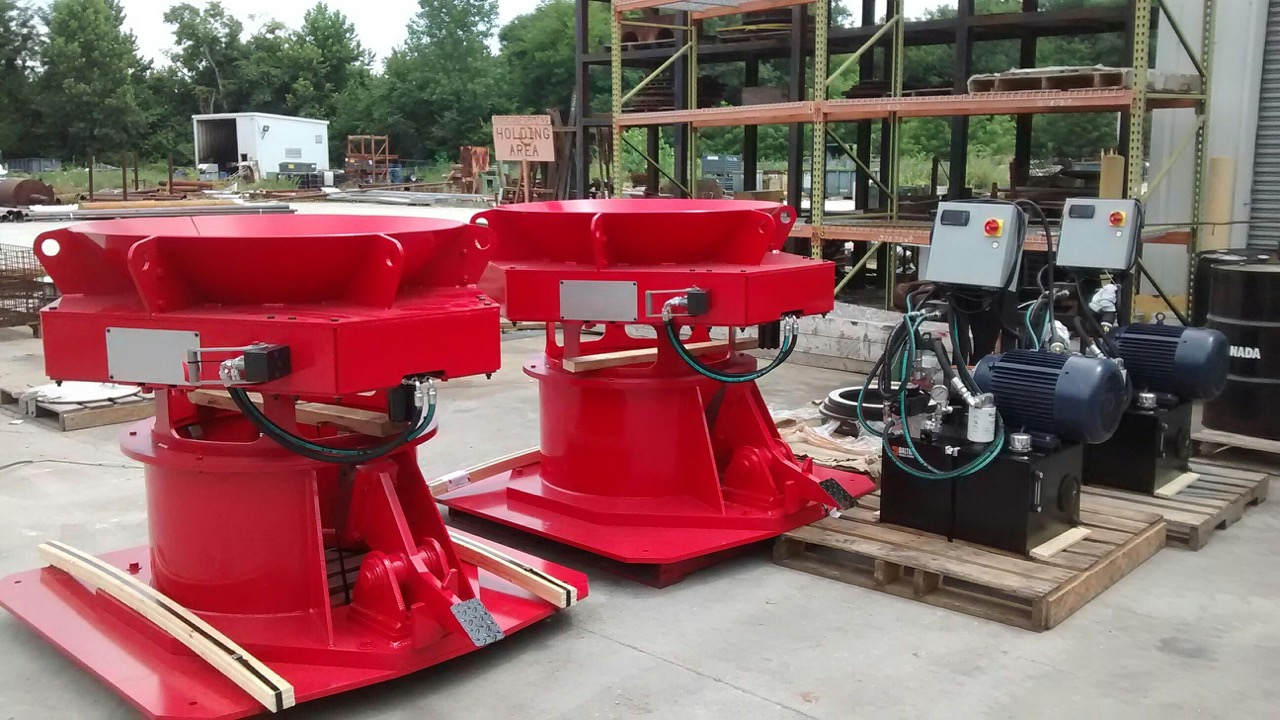 (2) x 28 Hydraulic Electrode Torque Stations - 6